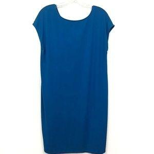 Eileen Fisher   Blue T-Shirt Dress Medium